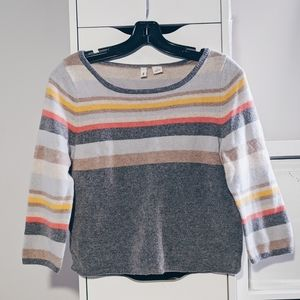 ANTHROPOLOGIE | MOTH STRIPED SWEATER